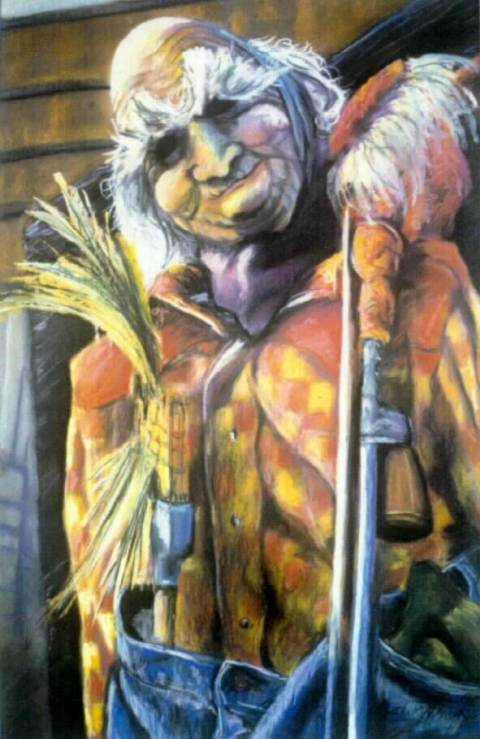 Make-shift Man - 1995 - pastel